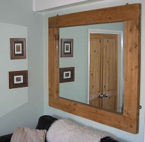 Деревянная рама для зеркала: достоинства и советы по изготовлению