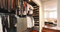 Обустройство гардеробной комнаты: требования, материалы, идеи