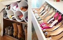 Организация систем хранения для обуви в гардеробной комнате: способы и особенности