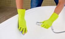 Чистка акриловой ванны: правила, способы и советы