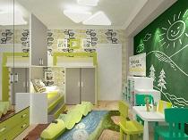 Каким должен быть дизайн детской комнаты: варианты и особенности