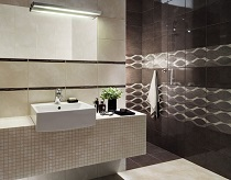 Какой материал подобрать для облицовки стен в ванной комнате