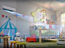 Как выбрать настенный кондиционер для детской комнаты: виды и особенности