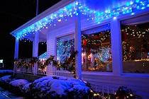 Как выбрать уличные светодиодные гирлянды: преимущества и особенности